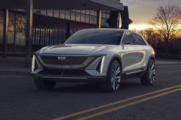 Cadillac start elektrisch offensief met Lyriq concept-car