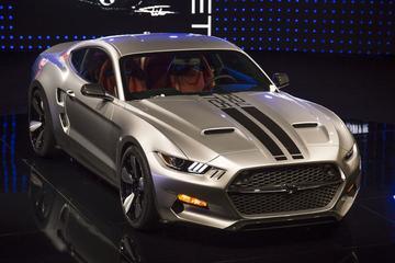 Galpin Rocket is ver-Fiskerde Mustang