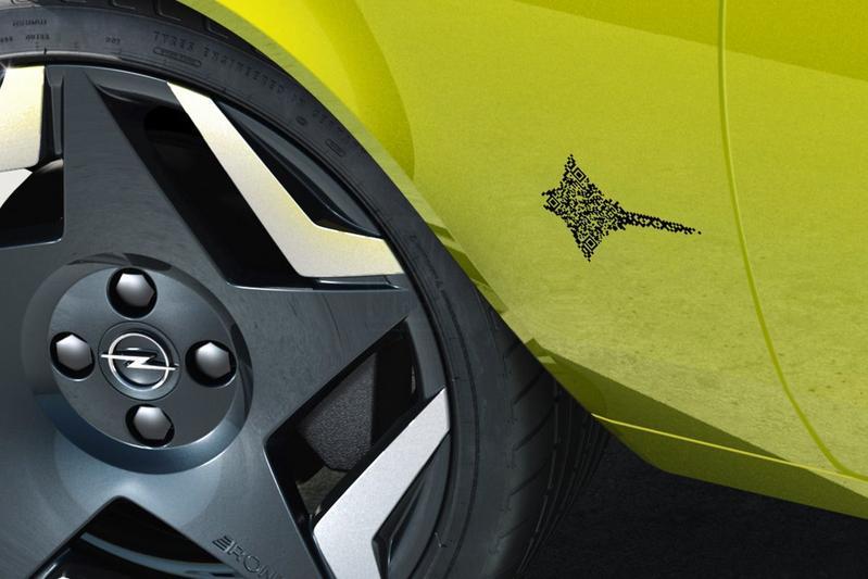 Opel iQR-code