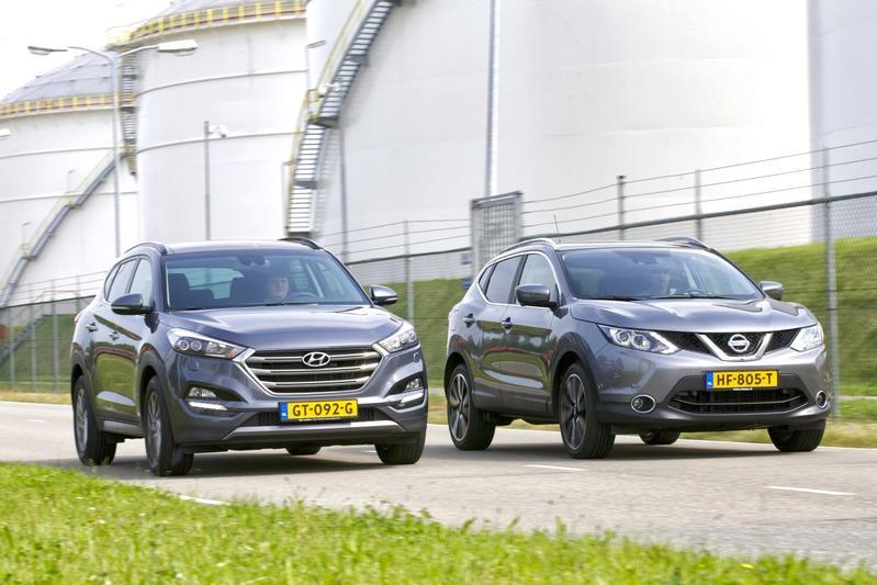 Hyundai Tucson 1.7 CRDI vs. Nissan Qashqai DCI 110