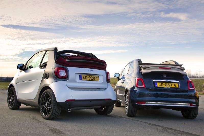 Smart Fortwo Cabrio vs. Fiat 500 Cabrio