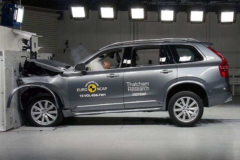 Sterrenregen bij Euro NCAP-botsproeven