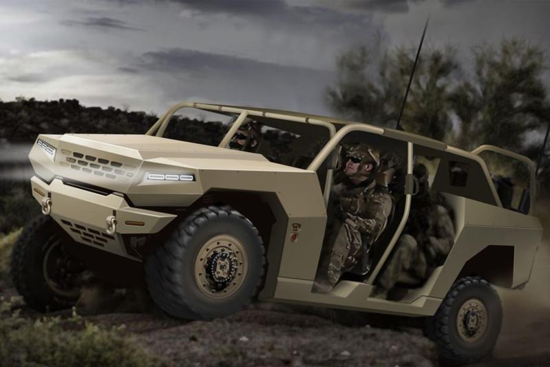 Kia military ATV