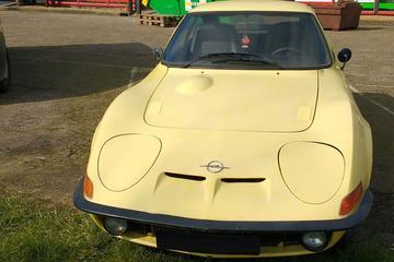 In het wild: Opel GT (1973)