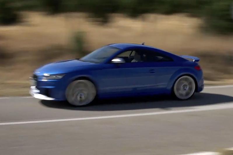 Audi TT RS - Rij-impressie