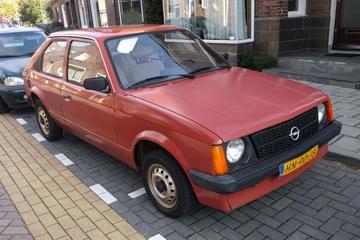 In het wild: Opel Kadett D (1982)