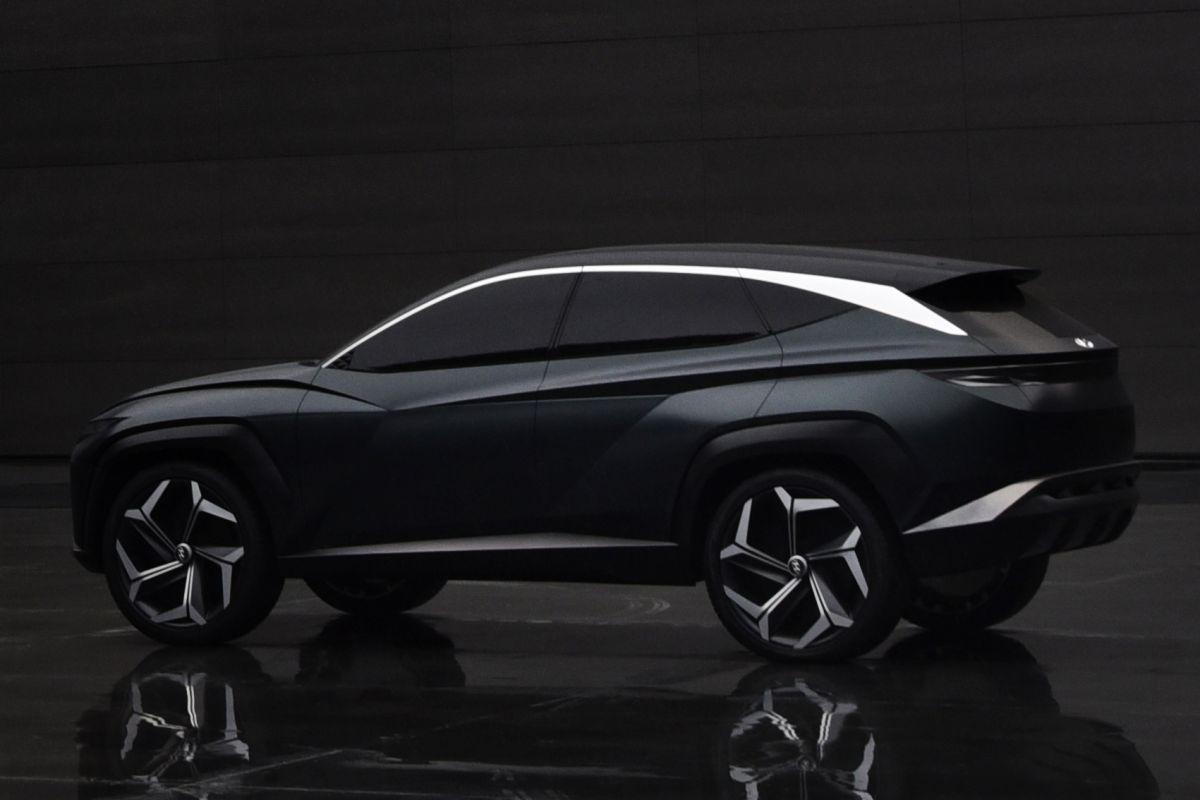 Hyundai PHEV SUV Concept (Los Angeles 2019) 26