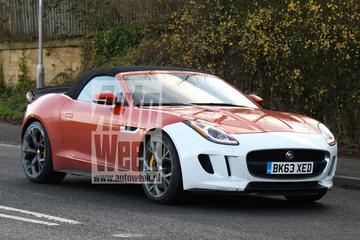 Spannende Jaguar F-Type gaat rond
