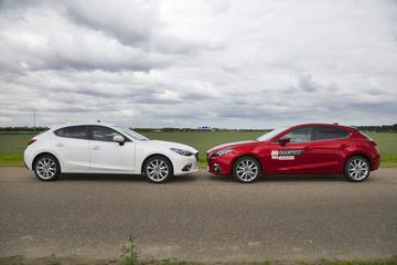 Mazda 3 2.0 SkyActiv-G 120 pk op pad met z'n sterke broer