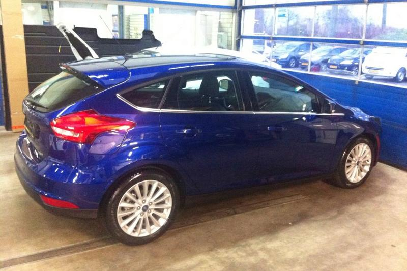 Ford Focus 1.0 EcoBoost 125pk First Edition (2014)