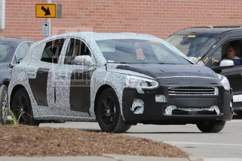 Ford Focus opnieuw gespot