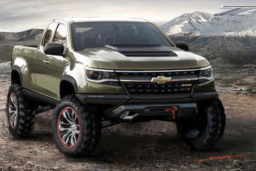 Offroad-beul: Chevrolet Colorado ZR2 Concept