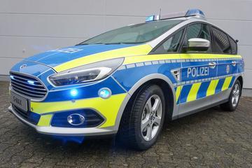 Ford S-Max voor Duitse politie