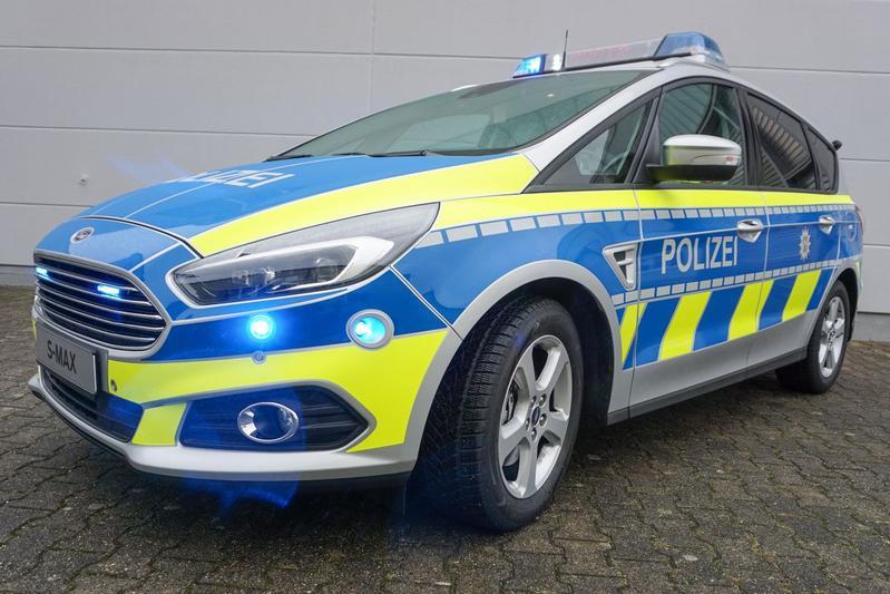 Ford S-Max Polizei