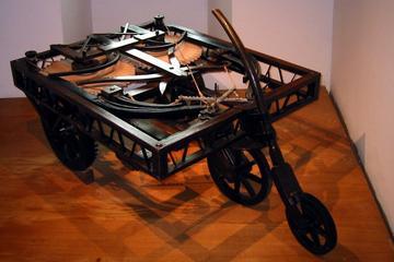 Da Vinci's auto uit de 15e eeuw - De Vluchtstrook