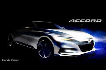Eerste lijnen Honda Accord in beeld