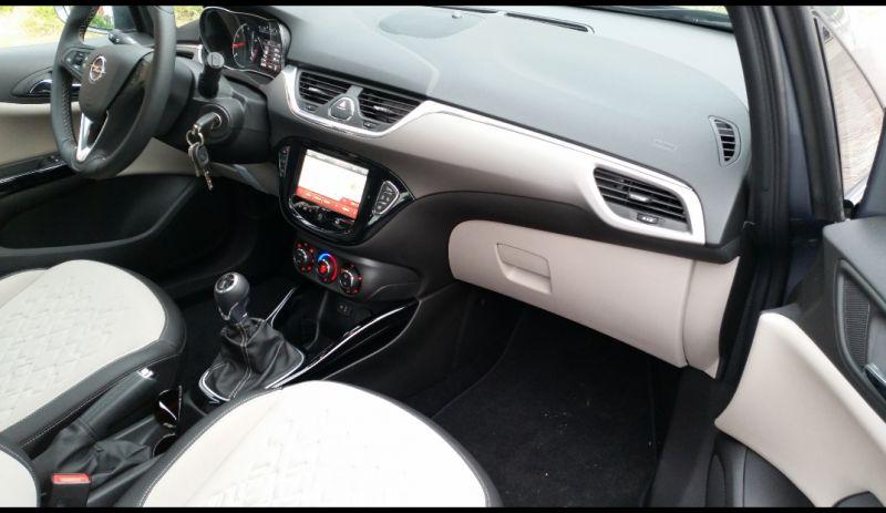 Opel corsa 1 0 turbo 115pk cosmo 2015 for Interieur 360 karachi