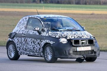 Gesnapt: nieuwe elektrische Fiat 500