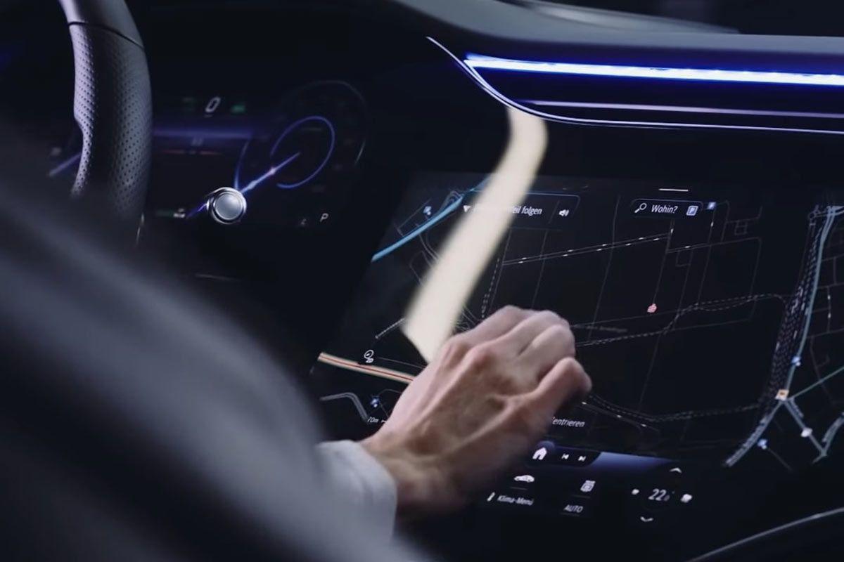 Mercedes-Benz EQS interieur