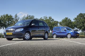 Fiat Qubo 1.4 vs. Skoda Fabia Combi 1.2 TSI - Occasiondubbeltest