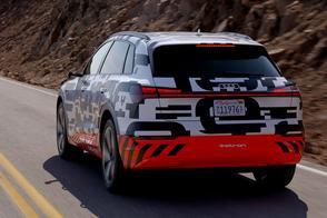 Kennismaking Audi E-Tron