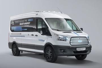 Ford Transit Smart Energy Concept in beeld