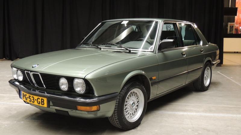 Bmw 520i 1986 Autoweek Nl