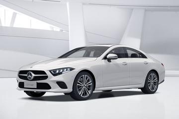 Mercedes-Benz CLS met bescheiden 1.5