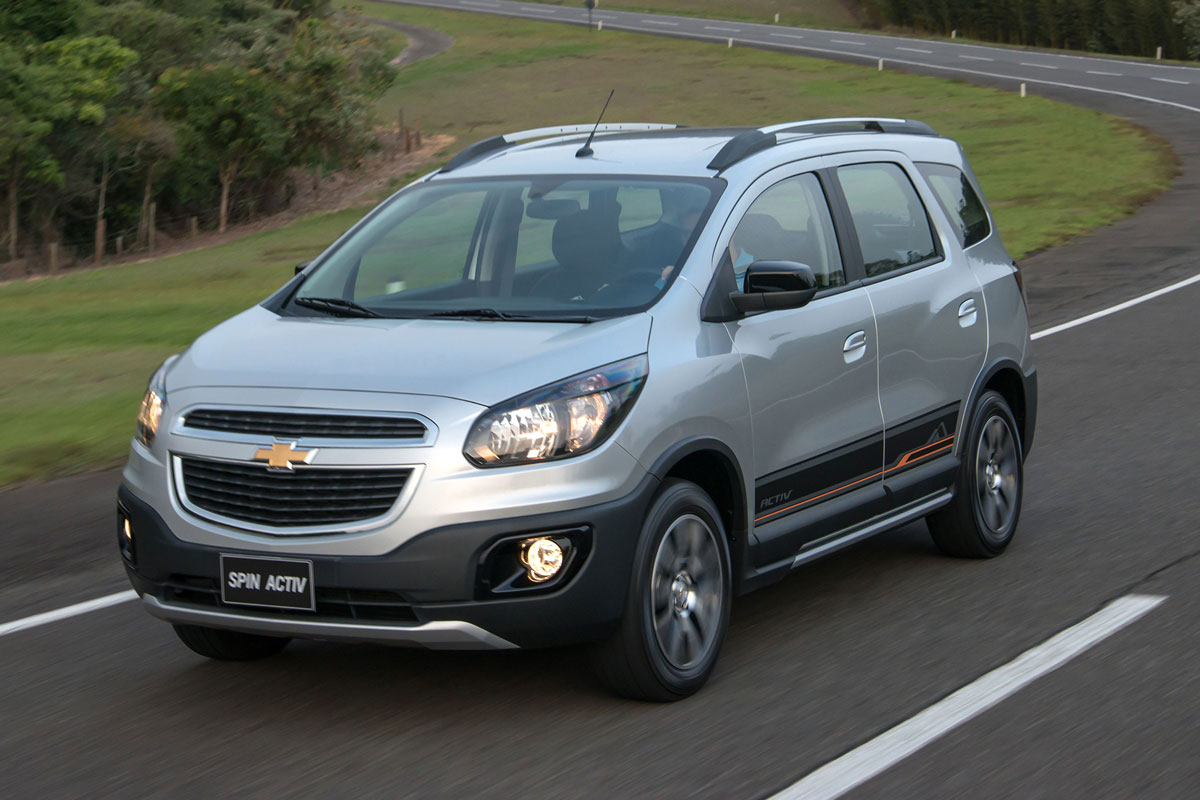 Langpootspin: Chevrolet Spin Activ - AutoWeek.nl