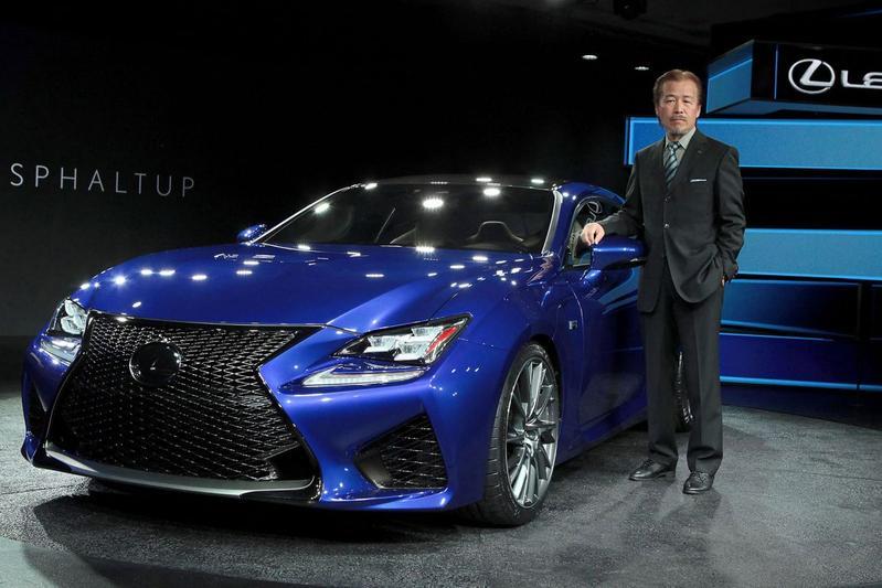 Yukihiko Yaguchi Lexus IS F