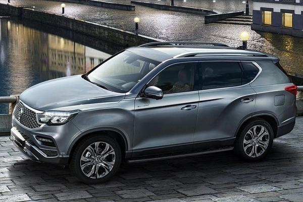 SsangYong Rexton and Musso 2020