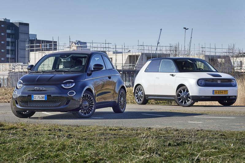 Fiat 500e vs. Honda e - Dubbeltest