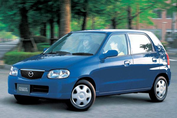 Suzuki Alto en Mazda Carol