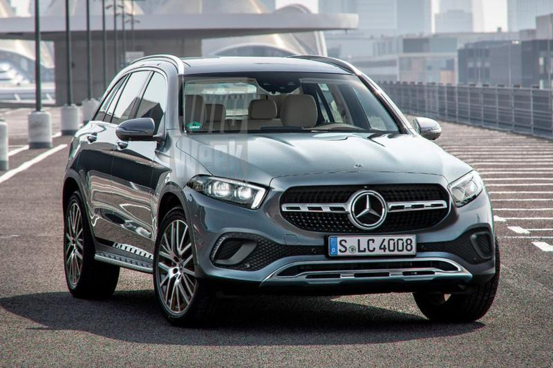 Mercedes-Benz GLC render toekomstvisie