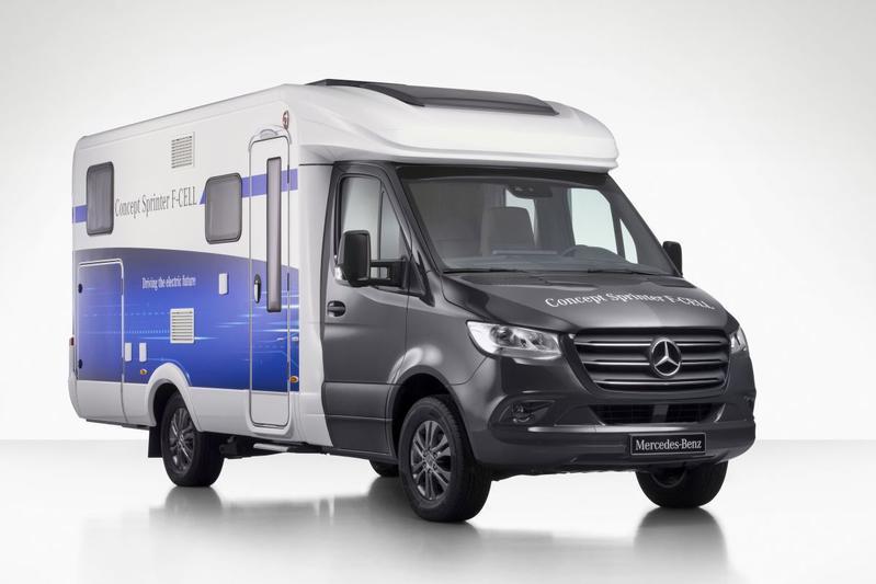 Mercedes-Benz pakt uit tijdens Caravan Salon