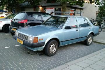 In het wild: Mazda 323 (1981)