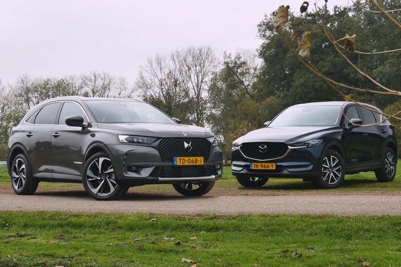 DS 7 Crossback vs. Mazda CX-5 - Dubbeltest