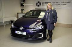 150 miljoenste Volkswagen geleverd