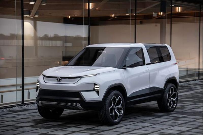 Tata HBX en Sierra EV Concept