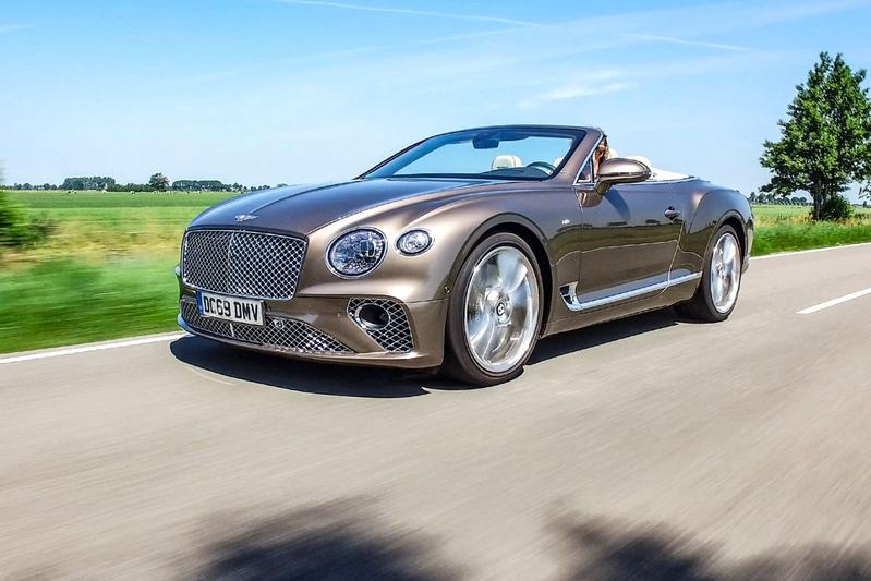 Bentley Continental GT V8 Convertible - Rij-impressie