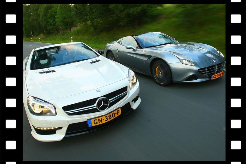 Videoflashback: Ferrari California T vs. Mercedes-AMG SL 63 - Dubbeltest