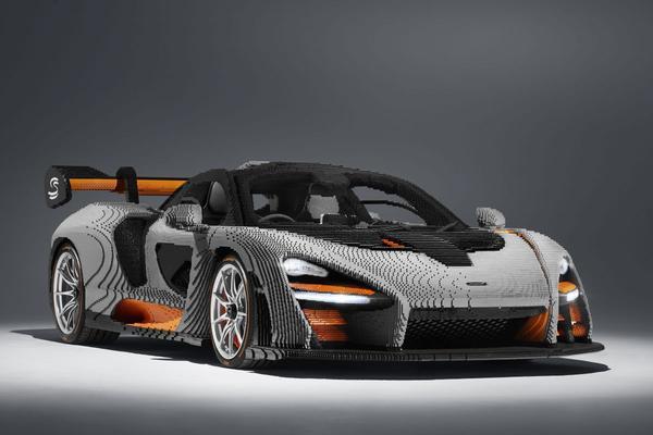 McLaren Senna van Lego