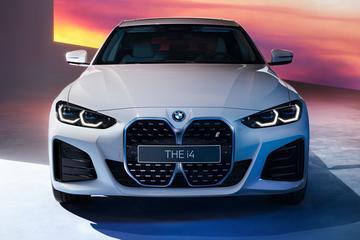 BMW i4 trekt M-pak aan