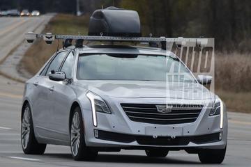 Cadillac test autonome techniek voor CT6