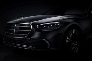 Mercedes-Benz blikt vooruit op nieuwe S-klasse