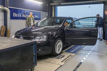Op de rollenbank: Volkswagen Golf GTI Abt