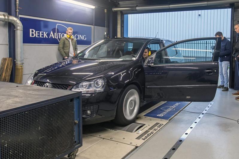 Volkswagen Golf GTI Abt - Op de Rollenbank