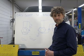 Dry Sump-smeersysteem - Cornelis schetst