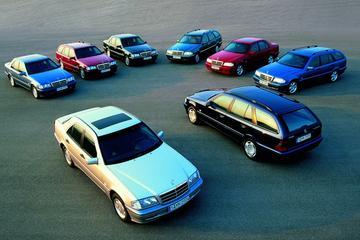Mercedes-Benz C-klasse: het begin