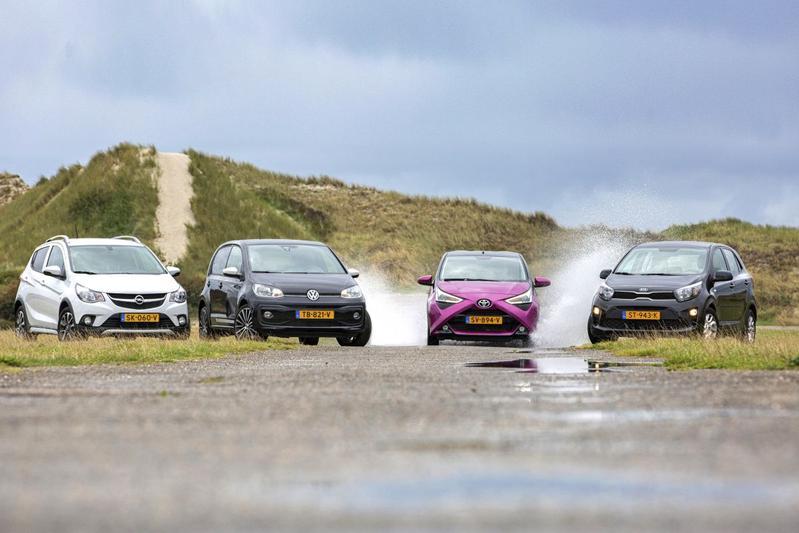Kia Picanto - Opel Karl - Toyota Aygo - Volkswagen Up